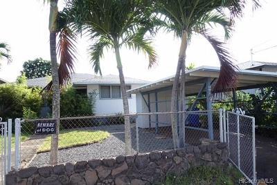 Single Family Home For Sale: 98-132 Kaluamoi Place