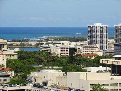 Honolulu Condo/Townhouse For Sale: 1520 Ward Avenue #1103