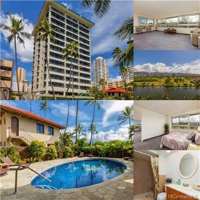 Honolulu Condo/Townhouse For Sale: 2465 Ala Wai Boulevard #1004