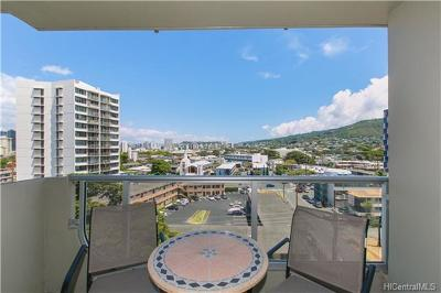 Honolulu Condo/Townhouse For Sale: 2637 Kuilei Street #A84