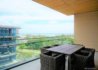 Honolulu Rental For Rent: 1388 Ala Moana Boulevard #6802