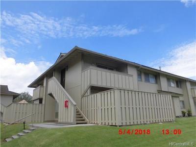 Waipahu Condo/Townhouse For Sale: 94-1192 Mopua Loop #C7