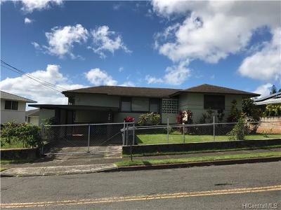 Honolulu Single Family Home For Sale: 2722 Peter Street