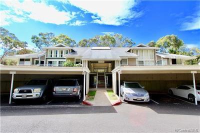 Mililani Condo/Townhouse For Sale: 95-270 Waikalani Drive #J103