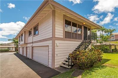 Pearl City Condo/Townhouse In Escrow Showing: 98-1788 Kaahumanu Street #65D