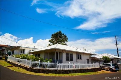 Aiea Single Family Home For Sale: 99-403 Aheahe Street