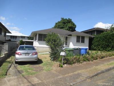 Honolulu Rental For Rent: 1936 Bachelot Street #Front