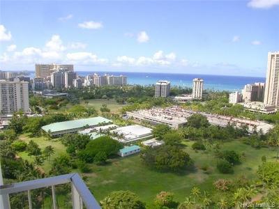Honolulu Condo/Townhouse For Sale: 1925 Kalakaua Avenue #2601