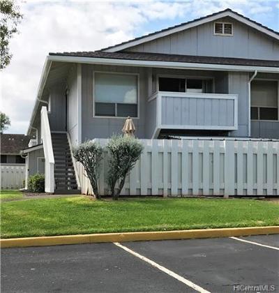 Waipahu Condo/Townhouse For Sale: 94-705 Paaono Street #L8