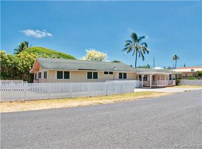 Kailua HI Single Family Home For Sale: $1,480,000