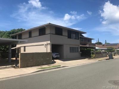 Honolulu Rental For Rent: 3423 Campbell Avenue