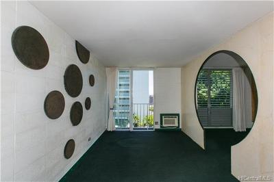 Honolulu Condo/Townhouse For Sale: 901 Prospect Street #105
