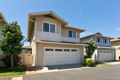 Ewa Beach Single Family Home For Sale: 91-1001 Keaunui Drive #22