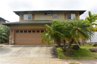 kapolei Single Family Home For Sale: 92-115 Kohi Place