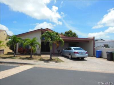 kapolei Single Family Home For Sale: 92-1147 Makamai Loop