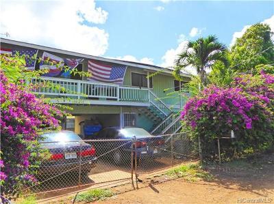 Single Family Home For Sale: 84-924 Hana Street