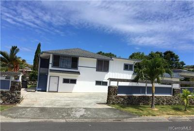 Kailua HI Single Family Home For Sale: $1,160,000
