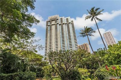 Condo/Townhouse For Sale: 1551 Ala Wai Boulevard #1205