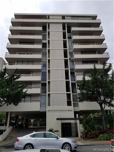 Condo/Townhouse In Escrow Showing: 2029 Ala Wai Boulevard #1