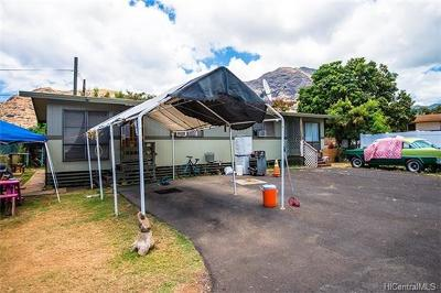 Single Family Home For Sale: 84-674 Farrington Highway #G
