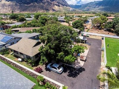 Waianae Single Family Home For Sale: 84-674 Farrington Highway #F