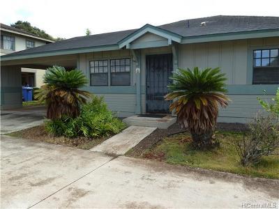 Waipahu Single Family Home For Sale: 94-1178 Kapehu Street
