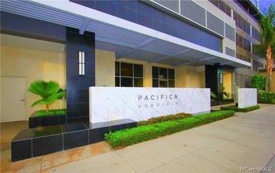 Hawaii County, Honolulu County Rental For Rent: 1009 Kapiolani Boulevard #4011