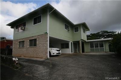 Pearl City Multi Family Home For Sale: 2277 Aumakua Street