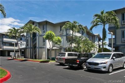Condo/Townhouse For Sale: 91-245 Hanapouli Circle #22D