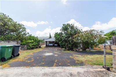Single Family Home For Sale: 388 Lunalilo Home Road