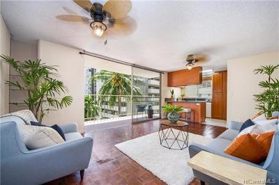 Hawaii County, Honolulu County Condo/Townhouse For Sale: 2355 Ala Wai Boulevard #508