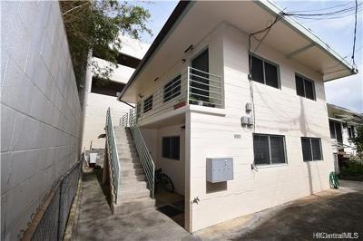Honolulu Single Family Home For Sale: 1608 Cottage Walk