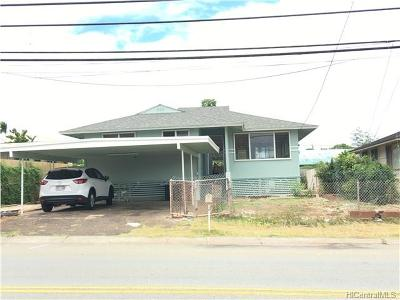 Waipahu Single Family Home In Escrow Showing: 94-345 Paiwa Street