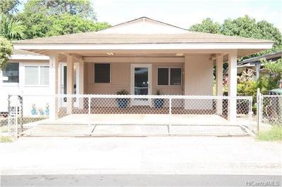 Honolulu Single Family Home In Escrow Showing: 4213 Likini Street