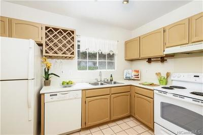 Kaneohe Condo/Townhouse In Escrow Showing: 44-096 Ikeanani Drive #823