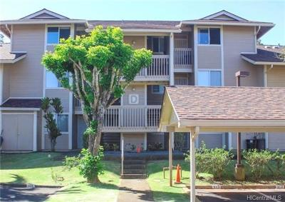 Mililani Condo/Townhouse For Sale: 95-510 Wikao Street #D304