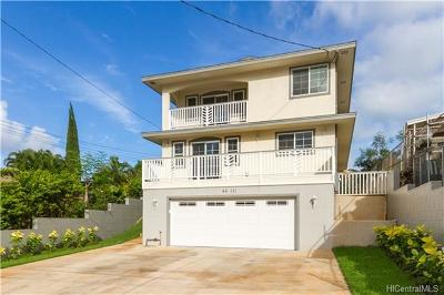 Multi Family Home In Escrow Showing: 44-131 Mikiola Drive