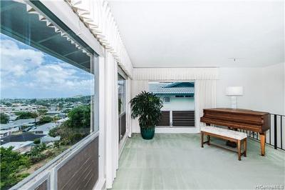 Single Family Home For Sale: 1312 Aupapaohe Street