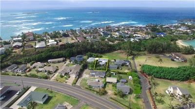 Laie Single Family Home In Escrow Showing: 55-497 Kamehameha Highway #D