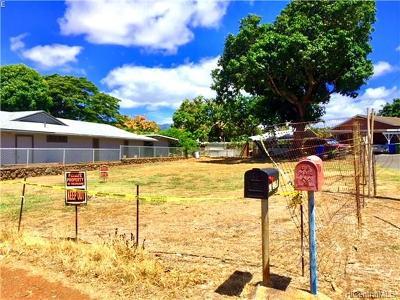 Honolulu County Residential Lots & Land In Escrow Showing: 94-046 Nawaakoa Street