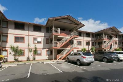 Aiea Condo/Townhouse In Escrow Showing: 98-630 Moanalua Loop #217