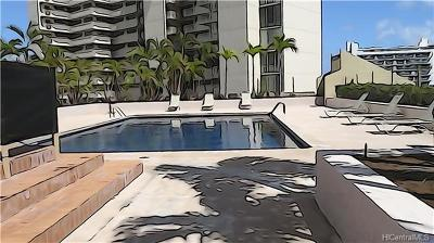Honolulu Condo/Townhouse For Sale: 1717 Mott Smith Drive #1009