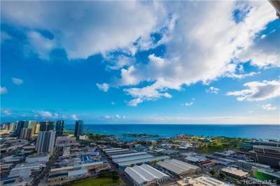 Honolulu County Condo/Townhouse For Sale: 555 South Street #3802