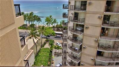 Honolulu County Condo/Townhouse For Sale: 2470 Kalakaua Avenue #1004