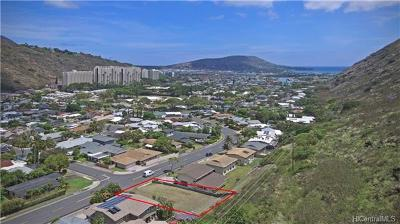 Residential Lots & Land In Escrow Showing: 668 Ainapo Street
