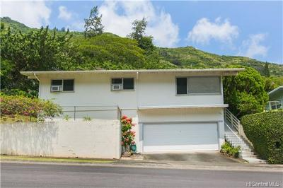 Honolulu County Single Family Home For Sale: 1201 Hind Iuka Drive