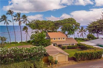 Waialua Single Family Home For Sale: 68-489 Crozier Drive