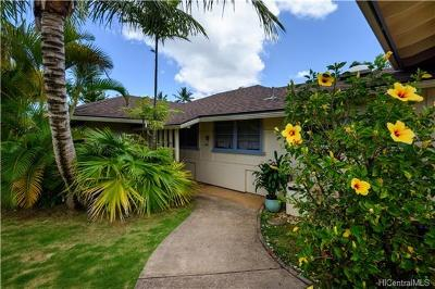 Kaneohe Single Family Home For Sale: 45-155 Ka Hanahou Circle