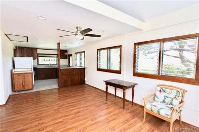 Haleiwa Single Family Home In Escrow Showing: 66-667 Haleiwa Road #6