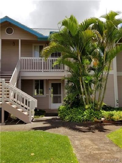 Waipahu Condo/Townhouse In Escrow Showing: 94-870 Lumiauau Street #M102